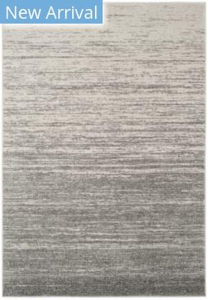 Rugstudio Sample Sale 166042R Light Grey - Grey Area Rug