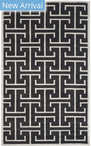 Safavieh Amherst Amt404g Anthracite - Light Grey Area Rug
