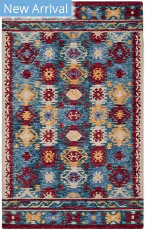 Safavieh Aspen Apn505a Blue - Red Area Rug