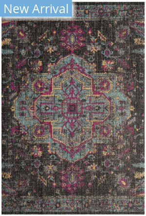 Safavieh Artisan Atn507k Black - Light Blue Area Rug