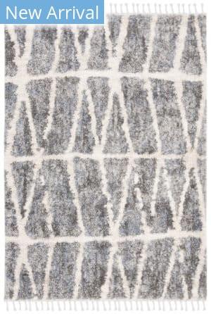 Safavieh Berber Fringe Shag Bfg605n Grey - Cream Area Rug