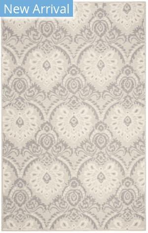 Safavieh Blossom Blm106a Light Grey - Ivory Area Rug