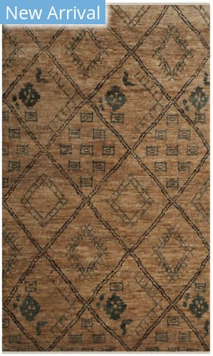Safavieh Bohemian Boh667a Natural - Deep Teal Area Rug
