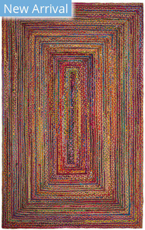 Safavieh Cape Cod Cap202a Red - Multi Area Rug