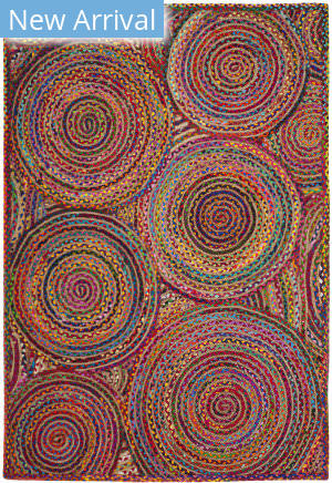 Safavieh Cape Cod Cap203a Red - Multi Area Rug