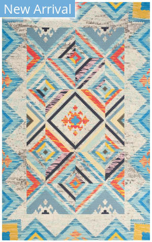 Safavieh Cedar Brook Cdr601a Blue - Light Grey Area Rug