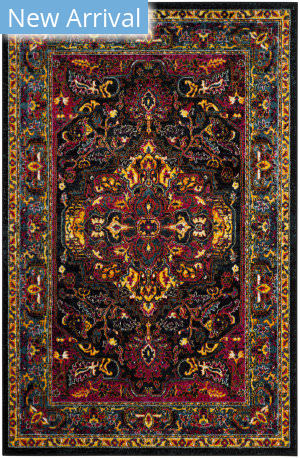 Safavieh Cherokee Chr915k Black - Blue Area Rug