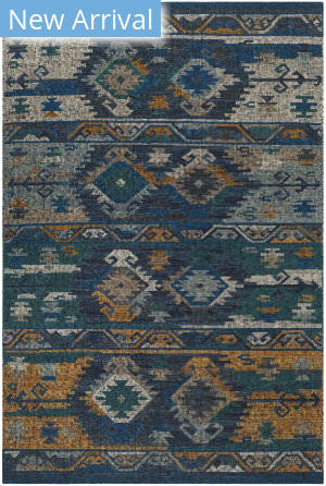 Safavieh Canyon Cny108c Blue Gold - Multi Area Rug