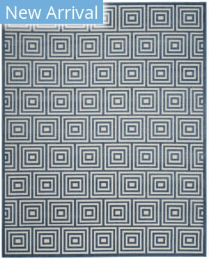 Safavieh Cottage Cot941k Cream - Light Blue Area Rug