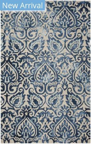 Safavieh Dip Dye Ddy511k Royal Blue - Beige Area Rug