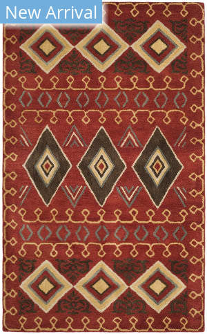 Safavieh Heritage Hg404a Red - Multi Area Rug