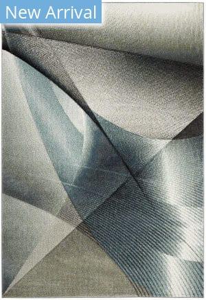 Safavieh Hollywood Hlw715d Grey - Teal Area Rug