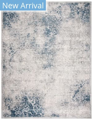 Safavieh Invista Inv403m Grey - Blue Area Rug