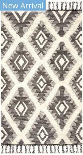 Safavieh Kenya Kny910h Black - Ivory Area Rug