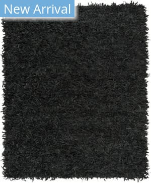Safavieh Leather Shag Lsg601a Black Area Rug