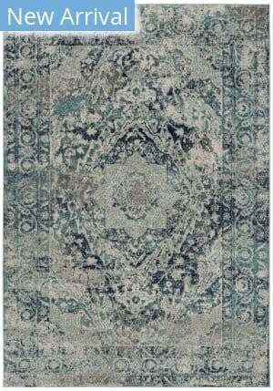 Safavieh Madison Mad152m Ivory - Blue Area Rug