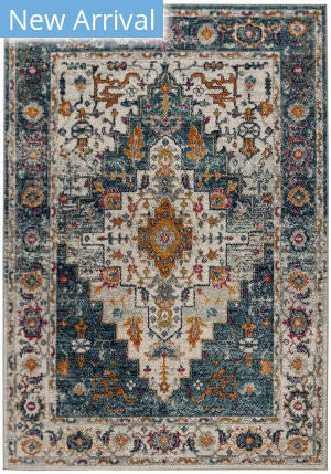 Safavieh Madison Mad156k Turquoise - Ivory Area Rug