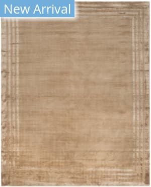 Ralph Lauren Hand Knotted Rlr6672f Truffle Area Rug