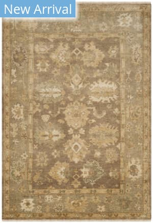 Ralph Lauren Hand Knotted Rlr6845d Faded Gold Area Rug