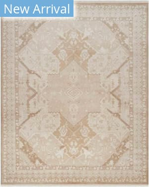 Ralph Lauren Hand Knotted Rlr6935b Tobacco Area Rug