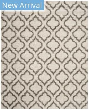 Safavieh Hudson Shag Sgh284a Ivory - Grey Area Rug