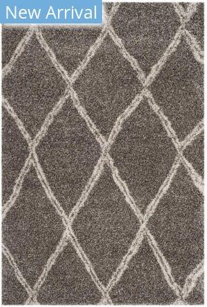 Safavieh Hudson Shag Sgh329b Grey - Ivory Area Rug