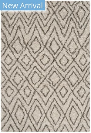 Safavieh Hudson Shag Sgh332a Ivory - Grey Area Rug