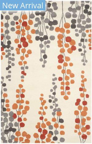 Rugstudio Sample Sale 143629R Beige - Orange Area Rug