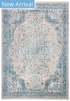 Safavieh Victoria Vic910f Blue - Grey Area Rug