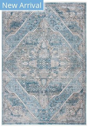 Safavieh Victoria Vic932f Blue - Grey Area Rug
