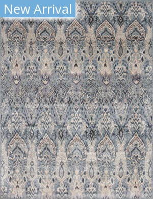 Samad Jazz Reserve Silk Rhythm Blue Area Rug