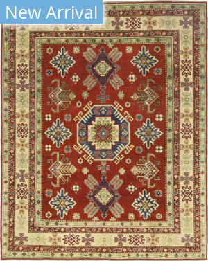 Solo Rugs Kazak M1817-197  Area Rug