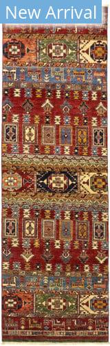 Solo Rugs Azeri M1889-180  Area Rug