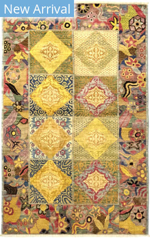 Solo Rugs Eclectic M1889-96  Area Rug
