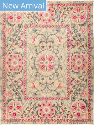 Solo Rugs Suzani M1891-150 Pinks Area Rug