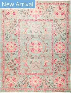 Solo Rugs Suzani M1891-159 Pinks Area Rug