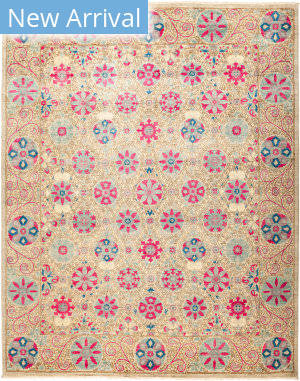 Solo Rugs Suzani M1891-192 Pinks Area Rug