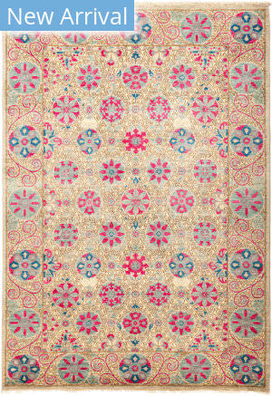 Solo Rugs Suzani M1891-200 Pinks Area Rug