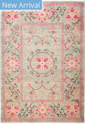 Solo Rugs Suzani M1891-203 Pinks Area Rug