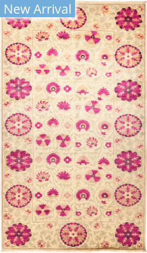 Solo Rugs Suzani M1891-207 Pinks Area Rug