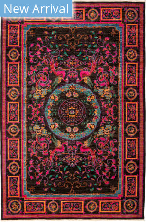 Solo Rugs Suzani M1891-221 Pinks Area Rug