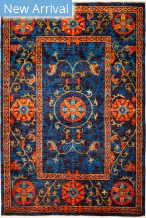 Solo Rugs Suzani M1891-240 Blues Area Rug