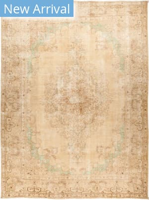 Solo Rugs Vintage M1891-313 Browns Area Rug