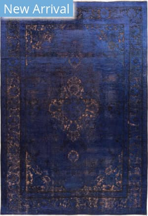 Solo Rugs Vintage M1891-359 Blues Area Rug
