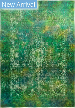 Solo Rugs Vintage M1891-361 Greens Area Rug