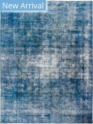 Solo Rugs Vintage M1891-363 Blues Area Rug