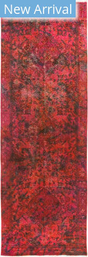 Solo Rugs Vintage M1891-370 Pinks Area Rug