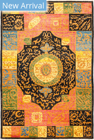 Solo Rugs Kaitag M1891-399 Yellows Area Rug