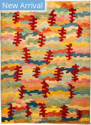 Solo Rugs Kaitag M1891-405 Yellows Area Rug