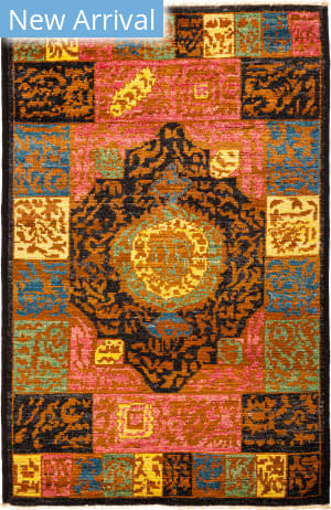 Solo Rugs Kaitag M1891-411 Yellows Area Rug